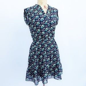 Two piece gap dress with adorable fox pattern.